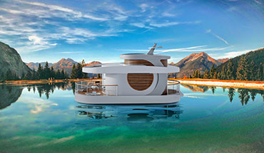 eco-friendly floating home